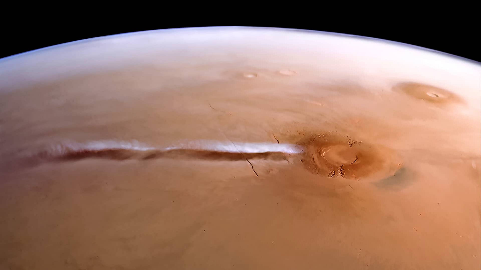The Arsia Mons Elongated Cloud