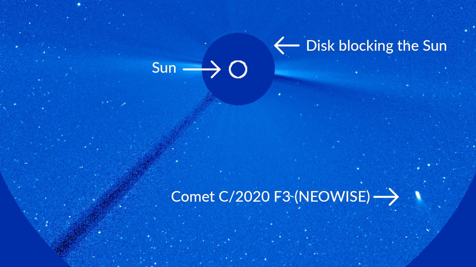 O cometa NEOWISE (C / 2020 F3) sobreviverá ao Perihelion?