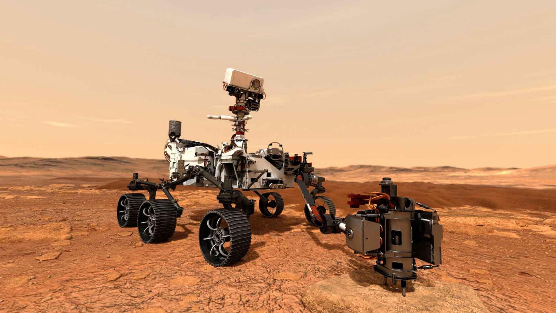 Rover Perseverance a caminho de Marte